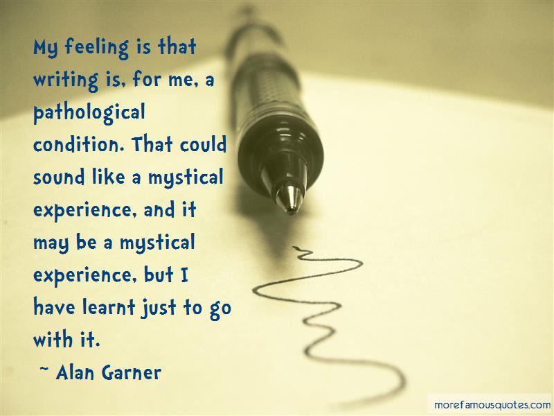 Alan Garner Quotes