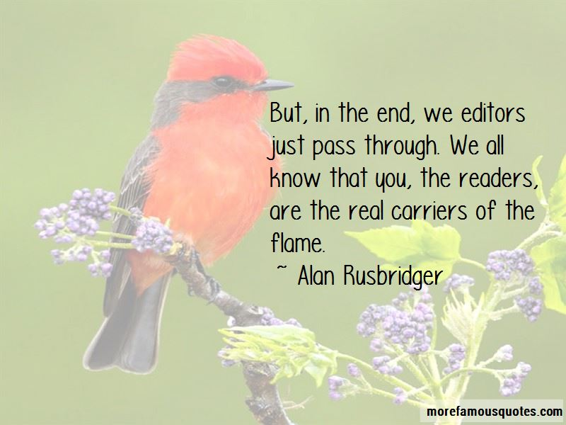 Alan Rusbridger Quotes Pictures 2