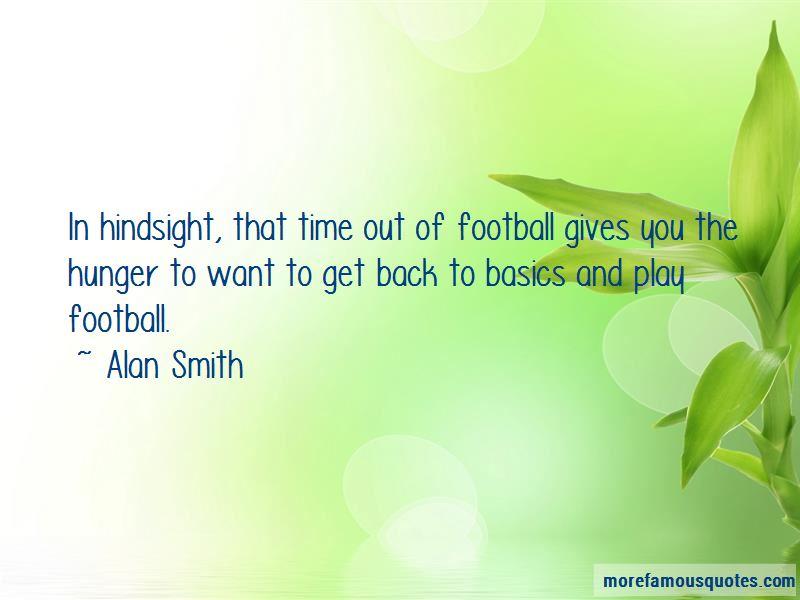 Alan Smith Quotes