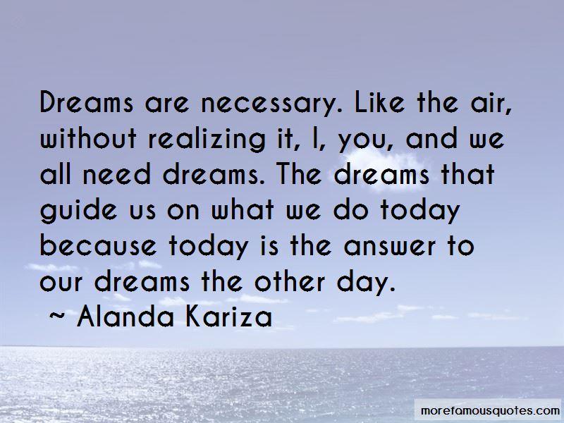 Alanda Kariza Quotes Pictures 2