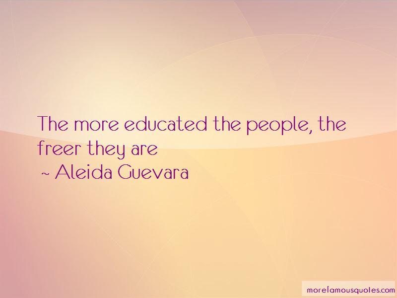 Aleida Guevara Quotes Pictures 2
