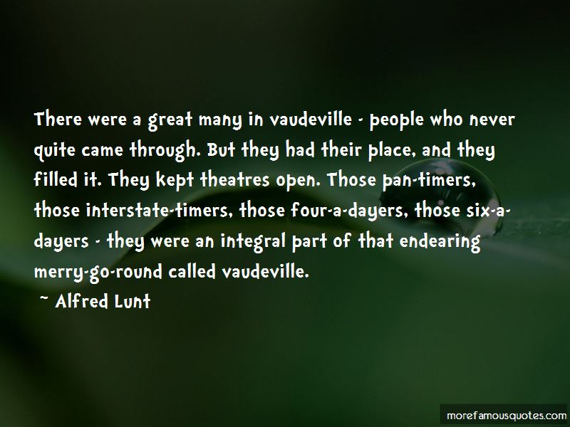 Alfred Lunt Quotes Pictures 2