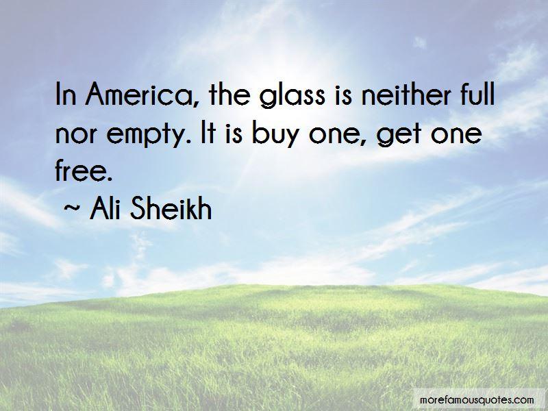 Ali Sheikh Quotes