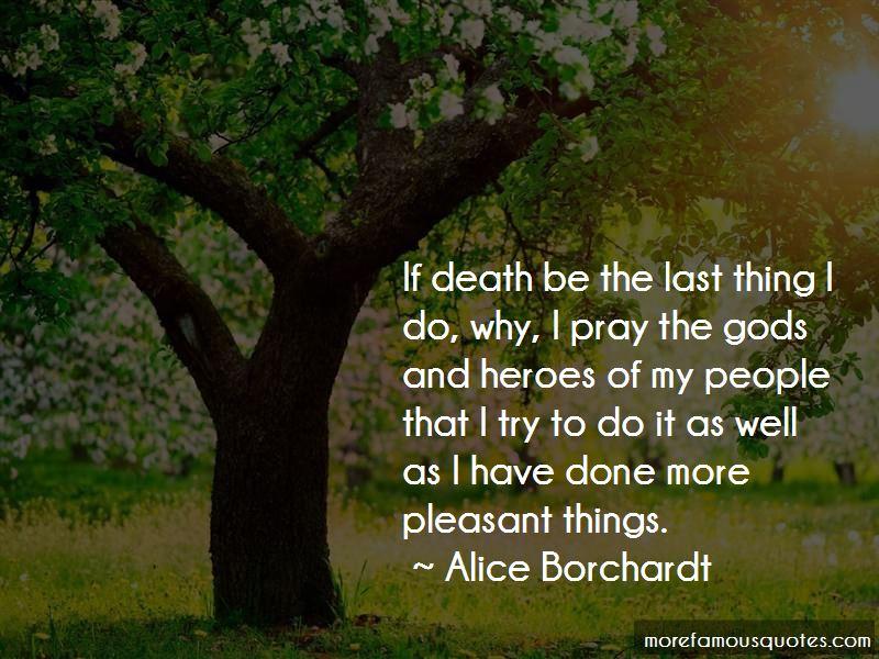 Alice Borchardt Quotes Pictures 2