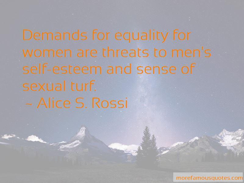 Alice S. Rossi Quotes Pictures 4