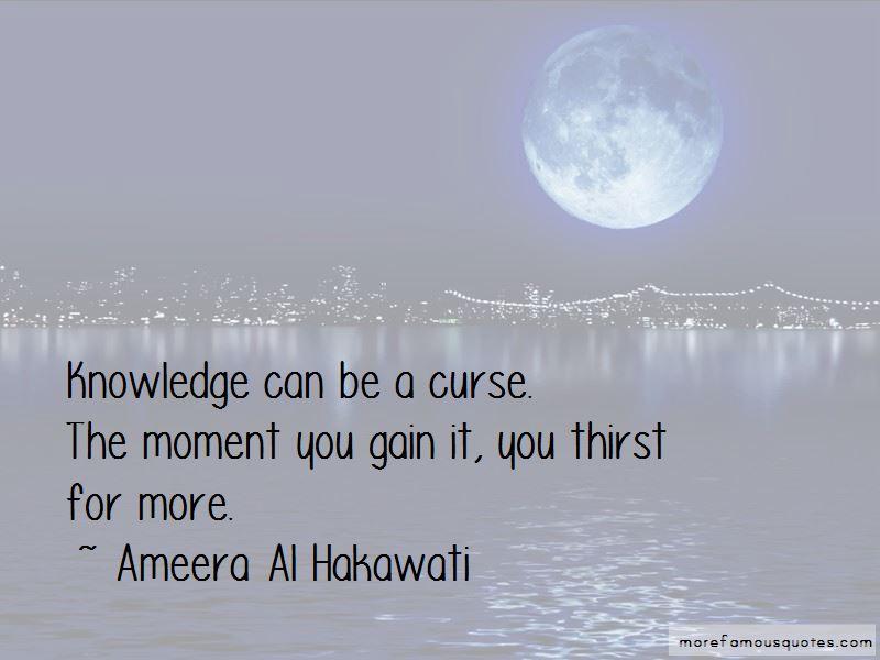 Ameera Al Hakawati Quotes