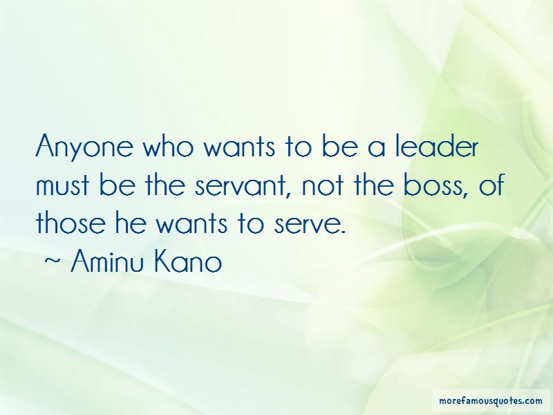 Aminu Kano Quotes Pictures 2