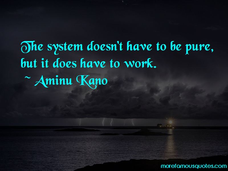 Aminu Kano Quotes Pictures 3