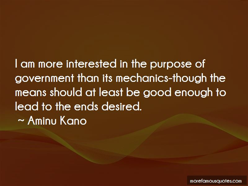 Aminu Kano Quotes Pictures 4