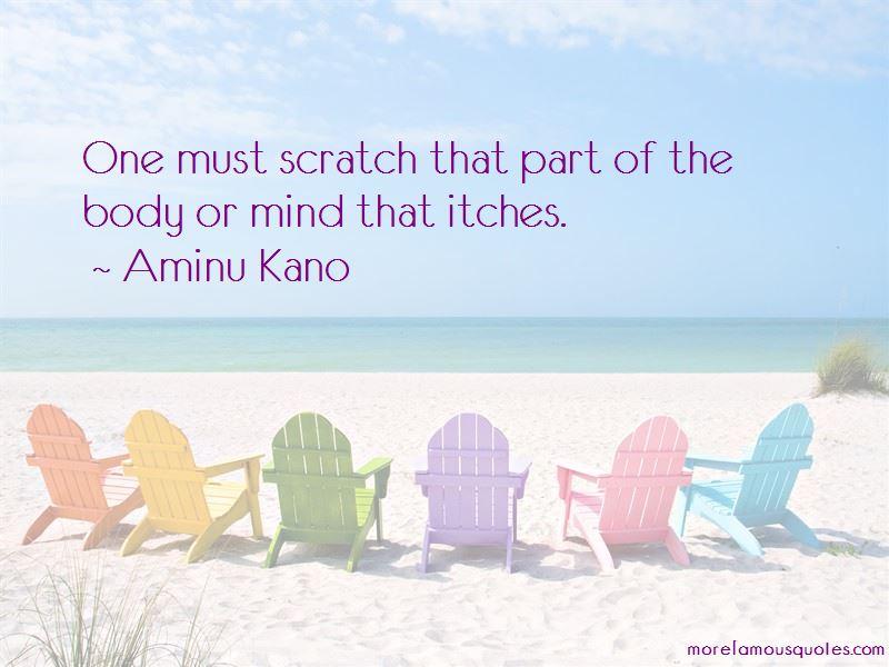 Aminu Kano Quotes