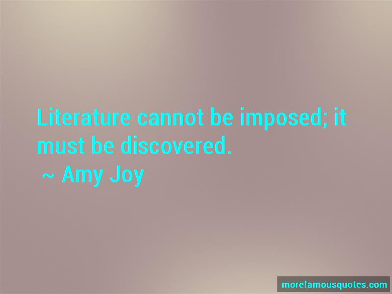 Amy Joy Quotes Pictures 2