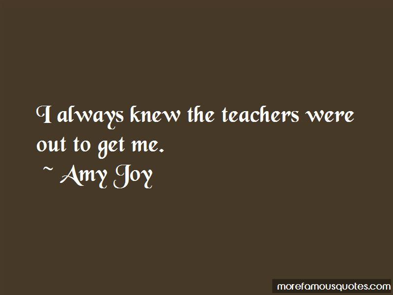 Amy Joy Quotes