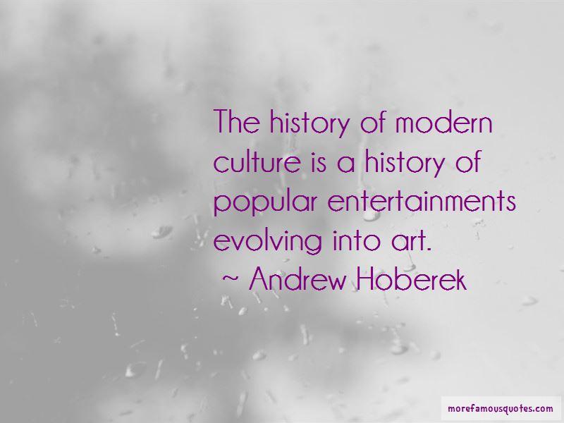 Andrew Hoberek Quotes