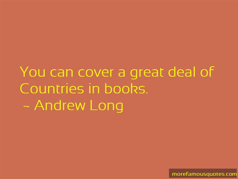 Andrew Long Quotes