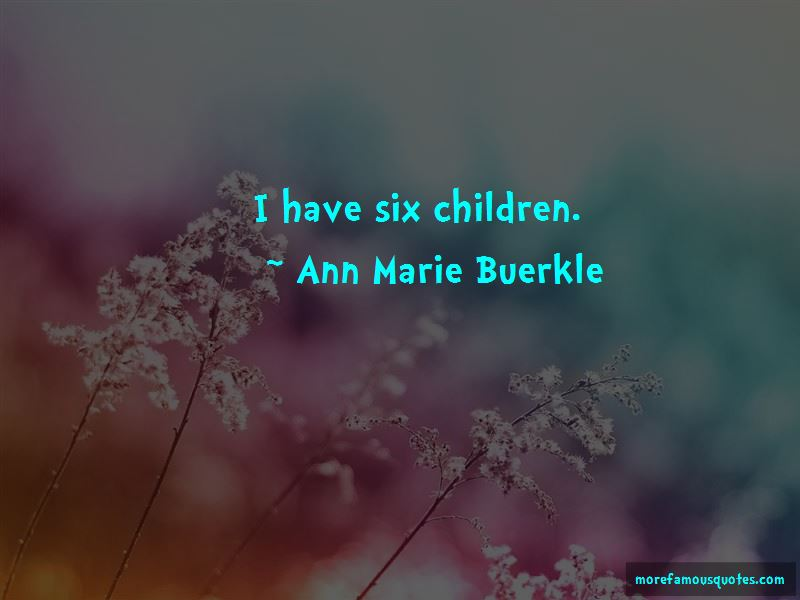 Ann Marie Buerkle Quotes Pictures 3