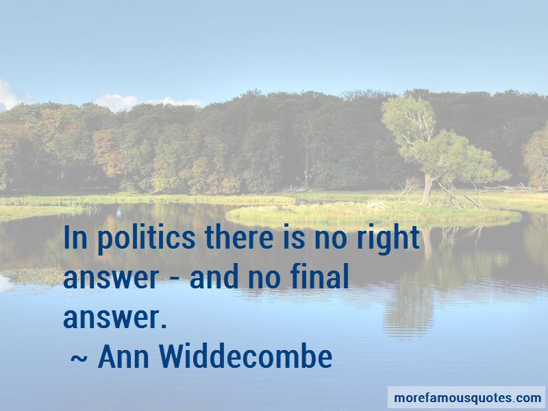 Ann Widdecombe Quotes Pictures 3