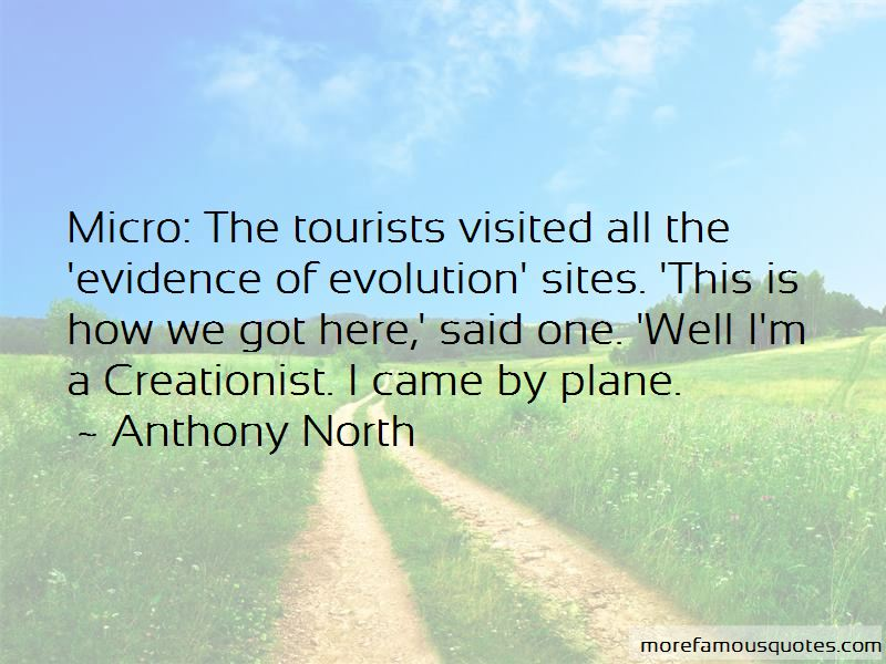 Anthony North Quotes
