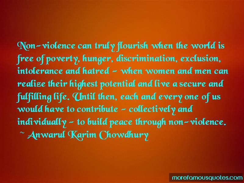 Anwarul Karim Chowdhury Quotes
