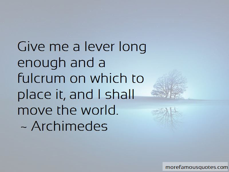 Archimedes Quotes Pictures 2