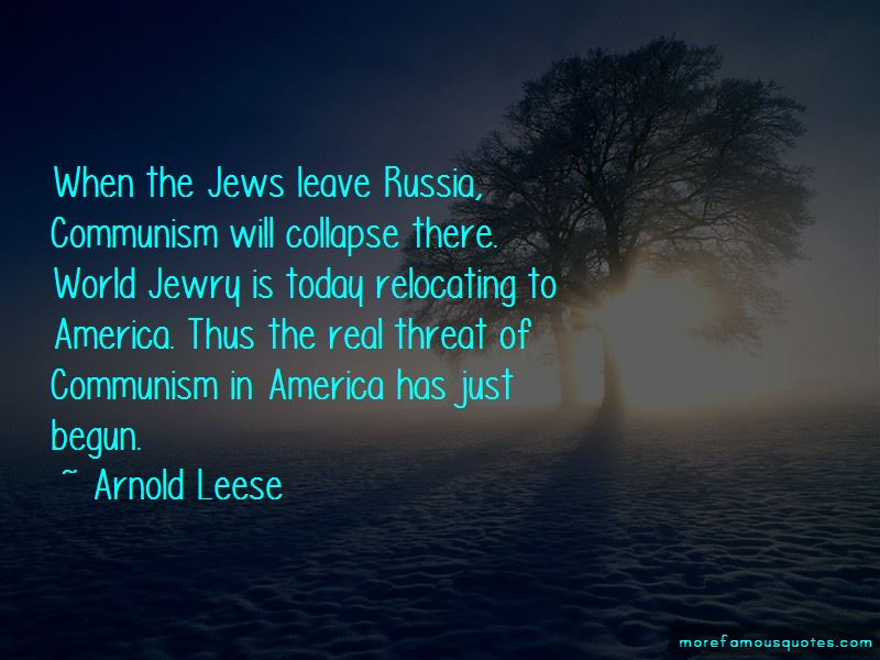 Arnold Leese Quotes Pictures 2