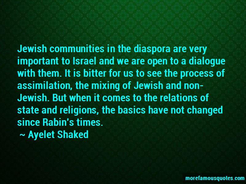 Ayelet Shaked Quotes