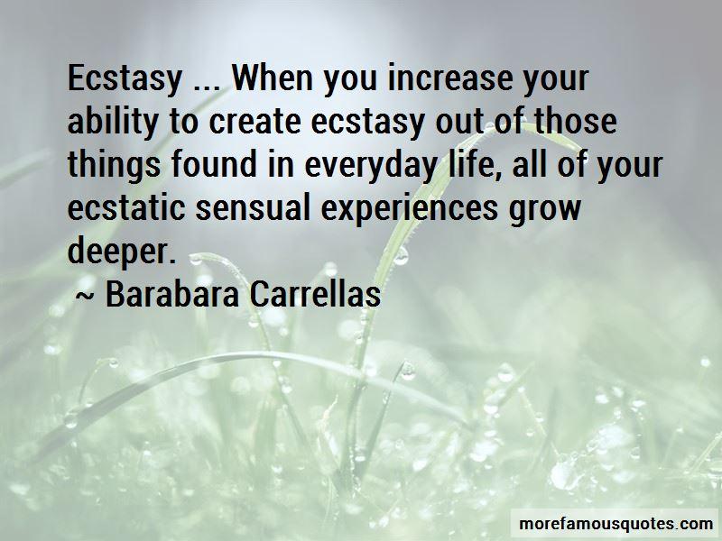 Barabara Carrellas Quotes