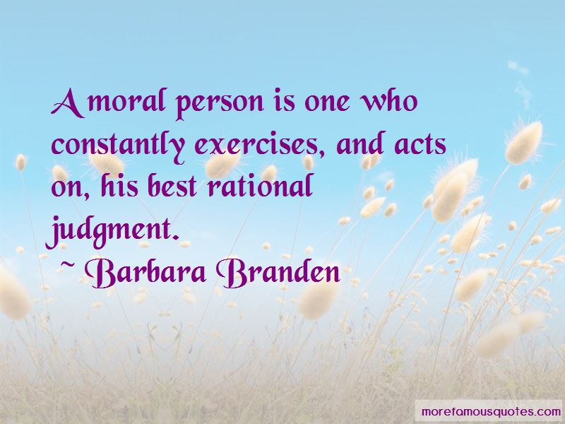 Barbara Branden Quotes