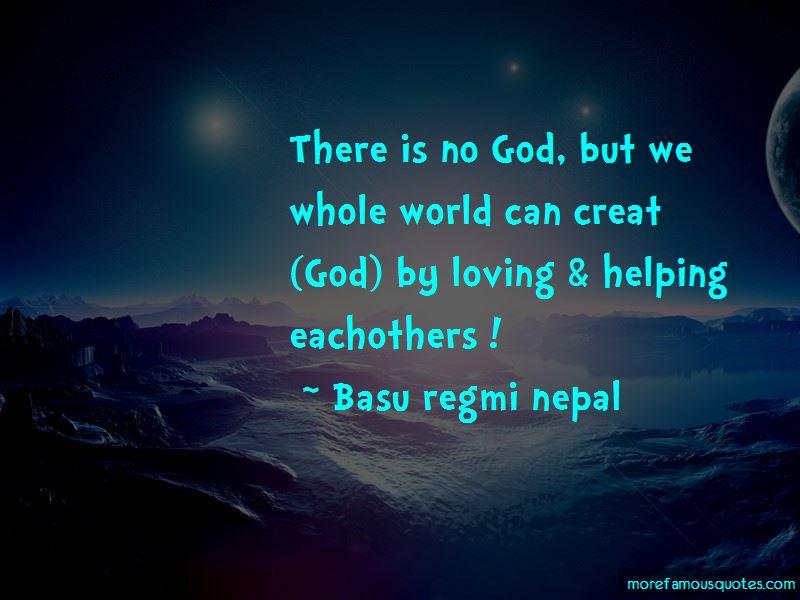 Basu Regmi Nepal Quotes