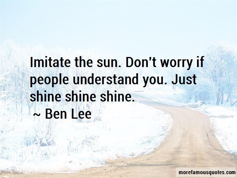 Ben Lee Quotes Pictures 2