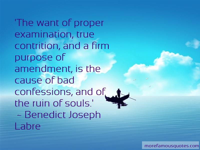 Benedict Joseph Labre Quotes