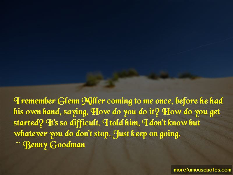 Benny Goodman Quotes Pictures 2