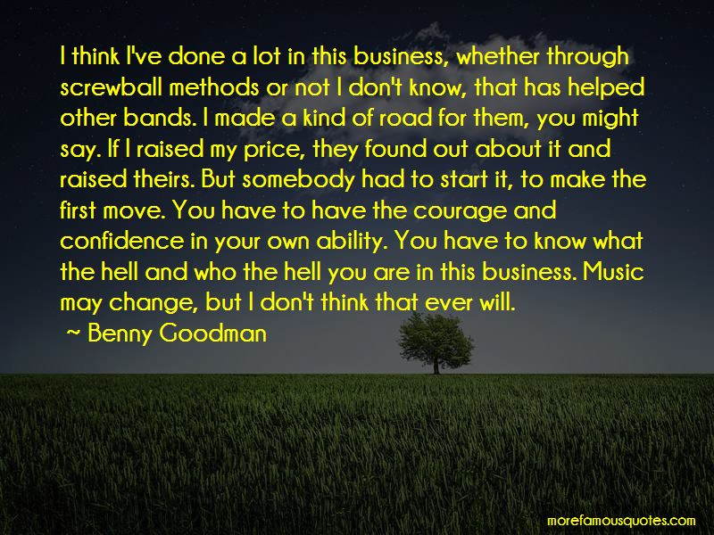 Benny Goodman Quotes Pictures 3