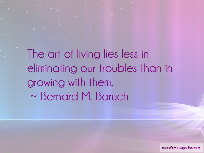 Bernard M. Baruch Quotes Pictures 4