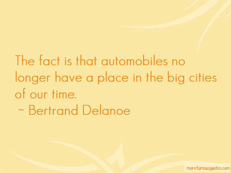 Bertrand Delanoe Quotes