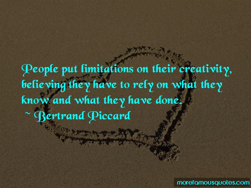 Bertrand Piccard Quotes Pictures 2
