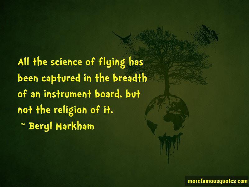 Beryl Markham Quotes Pictures 2