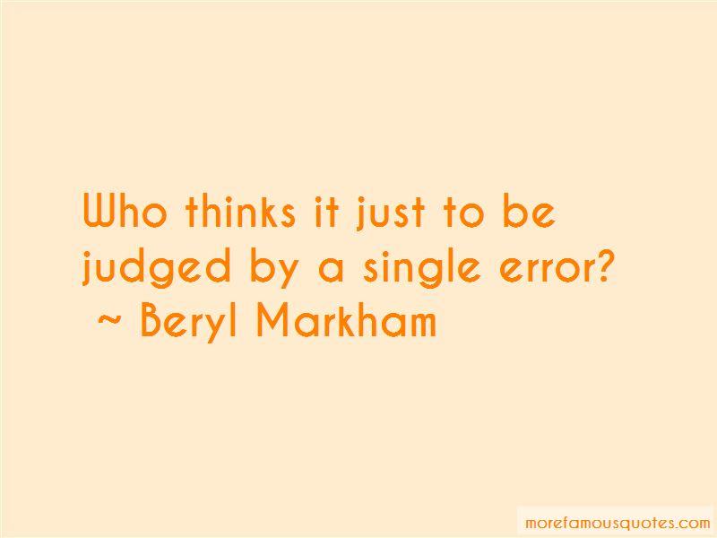 Beryl Markham Quotes Pictures 3