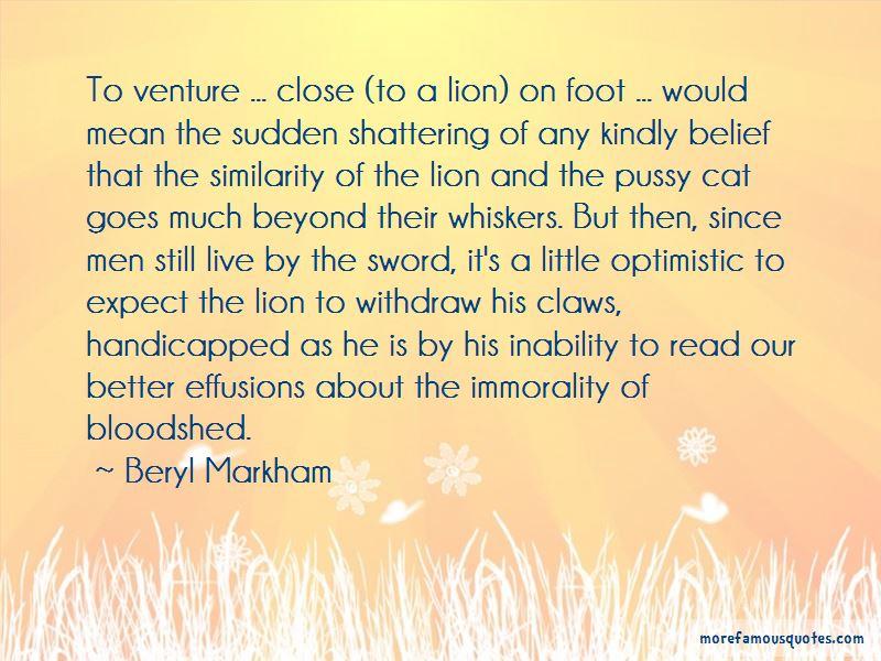 Beryl Markham Quotes Pictures 4