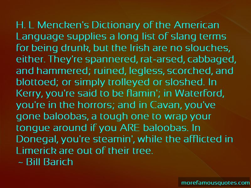 Bill Barich Quotes