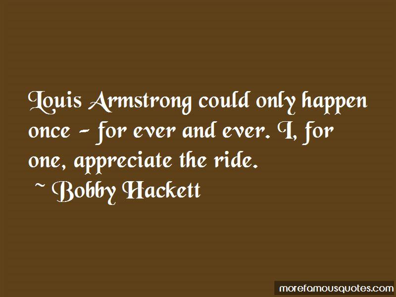Bobby Hackett Quotes