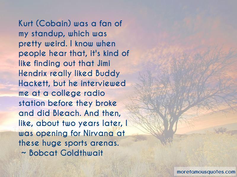 Bobcat Goldthwait Quotes