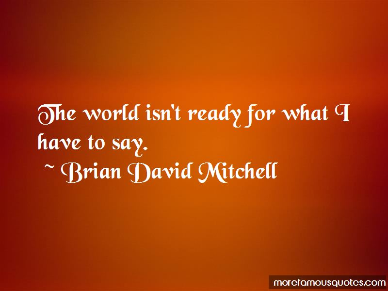 Brian David Mitchell quotes: top 1 famous quotes by Brian
