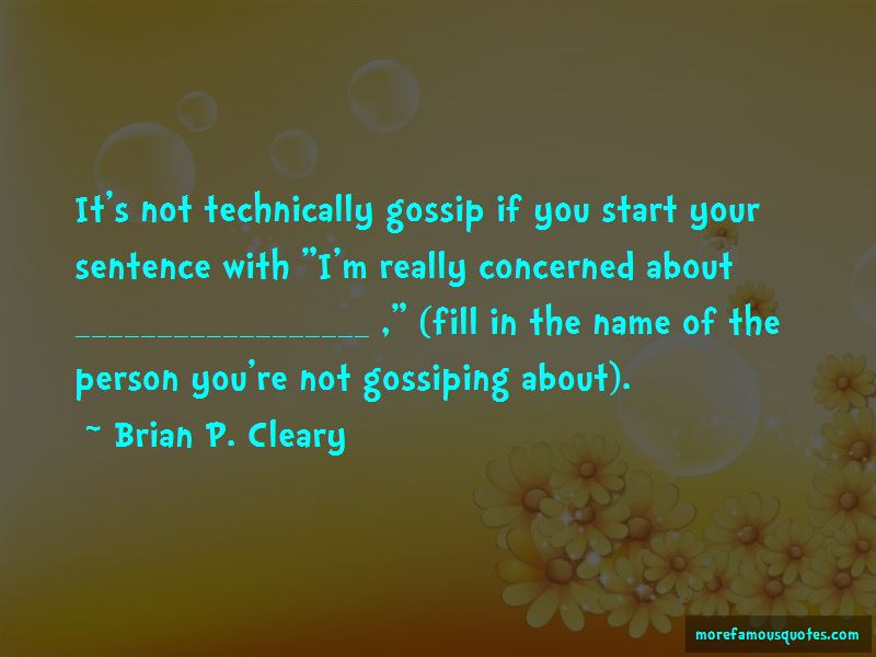 Brian P. Cleary Quotes Pictures 4