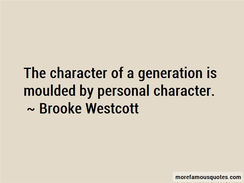 Brooke Westcott Quotes Pictures 4