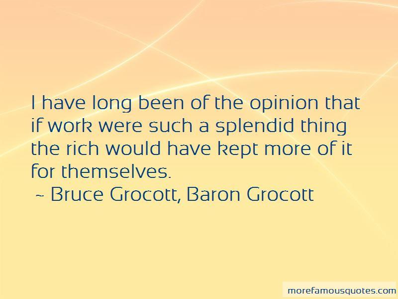 Bruce Grocott, Baron Grocott Quotes