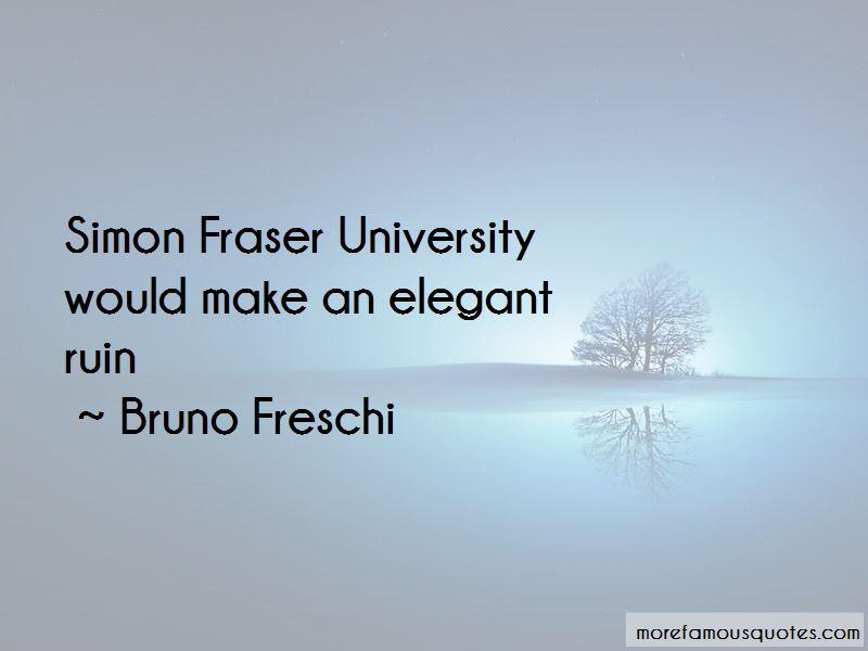 Bruno Freschi Quotes