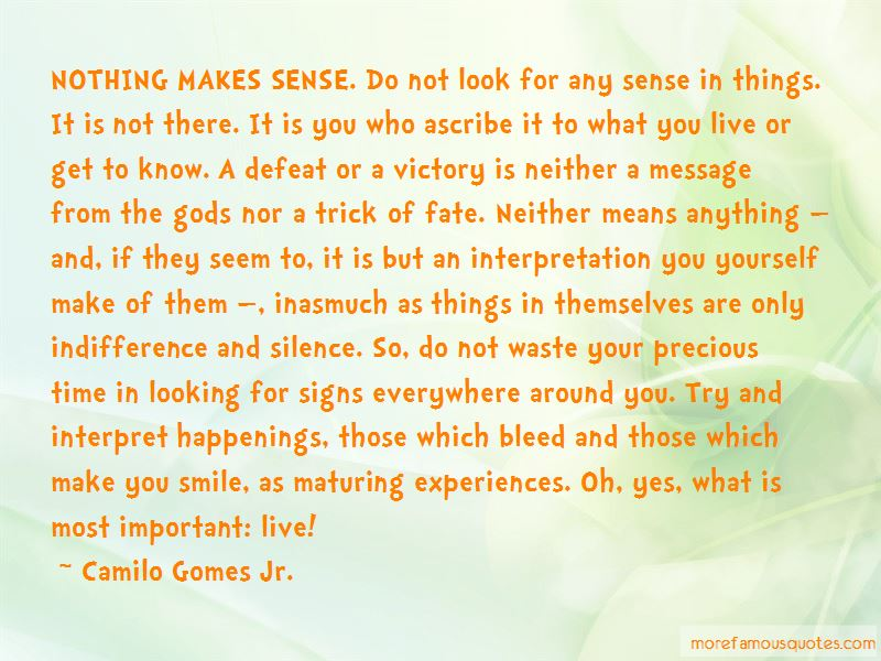 Camilo Gomes Jr. Quotes Pictures 2