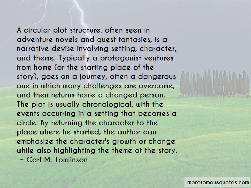 Carl M. Tomlinson Quotes