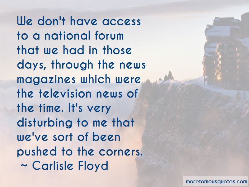 Carlisle Floyd Quotes Pictures 2