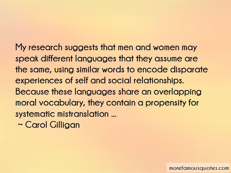 Carol Gilligan Quotes